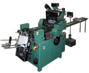 Halm Jet Press - Offset Envelope Printing Method