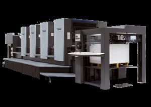 Offset Lithographic Press Envelope Printing Method