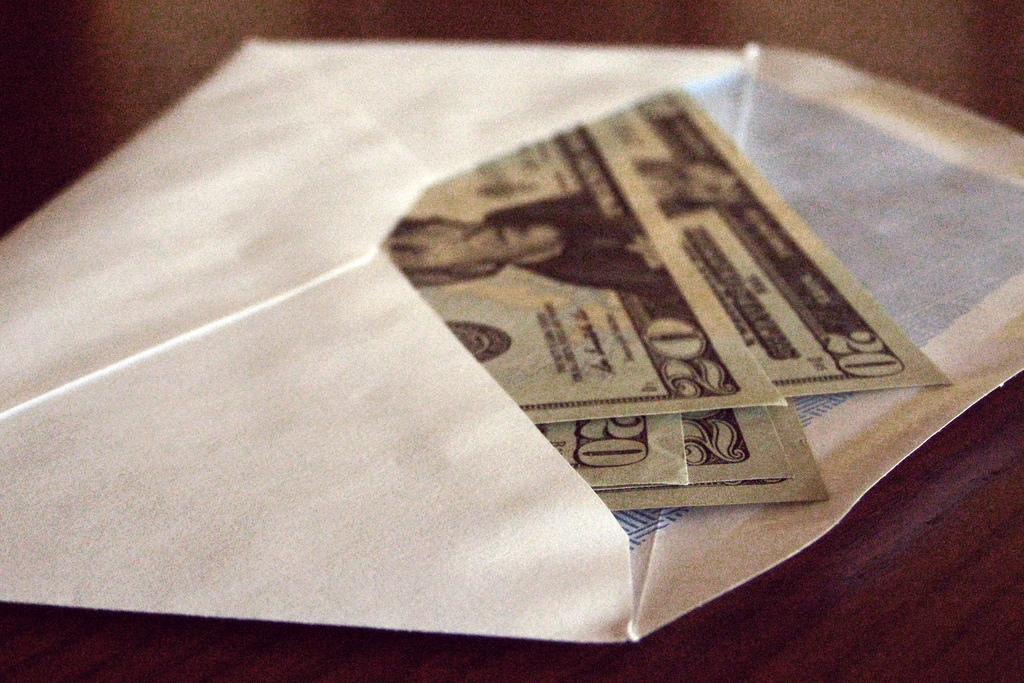 Tip envelope - Custom printed