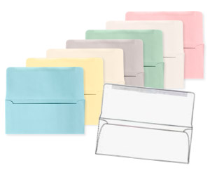 Remittance / Donation Envelopes on Colored Paper