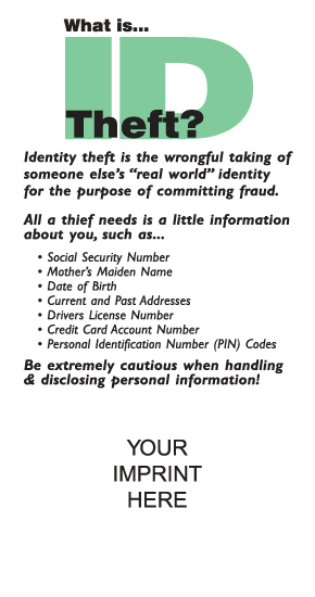 What is ID Theft?