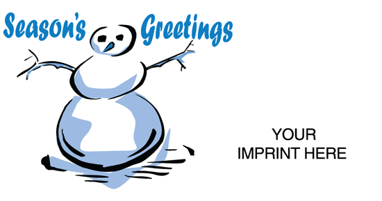 Season's Greetings / Snowman