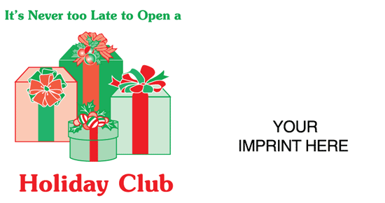 Holiday Club / Never to Late