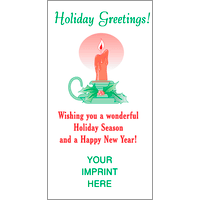 Holiday Greetings / Candle
